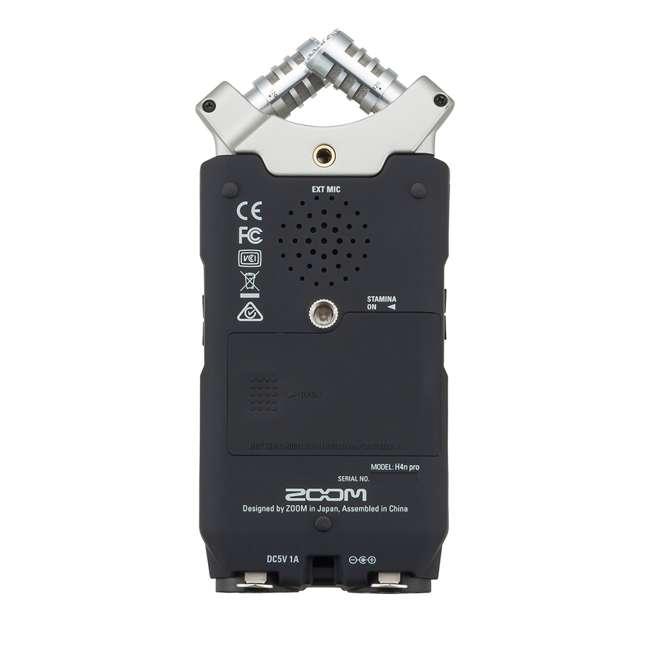 ZH4NPRO + TH02-B + SD4-16GB-SAN Zoom H4n Pro Digital Multitrack Recorder + TASCAM Headphones + Memory Card 2