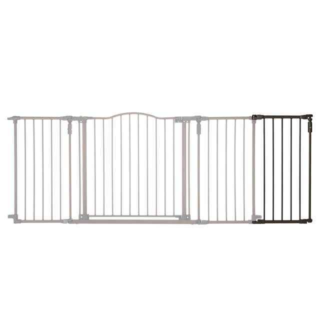 4938 North States 15-Inch Bronze Extension Piece Deluxe Decor Gate (Open Box)(2 Pack) 2