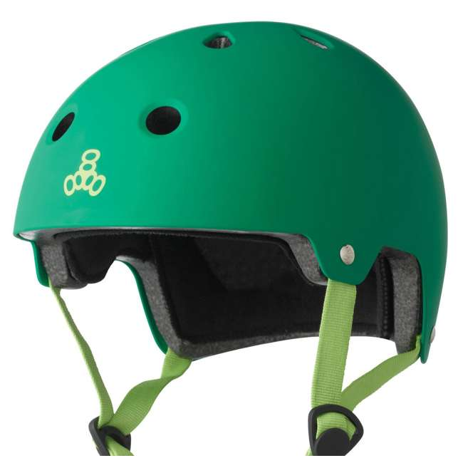 6 x T8-3027 Triple 8 Dual-Certified Skate and Bike Helmet with EPS Liner, Small/Medium (6 Pack) 3