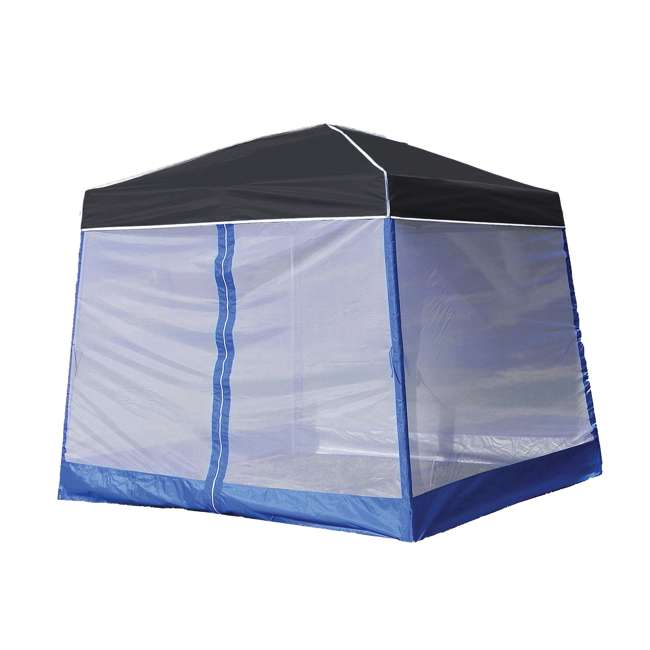 Z Shade 10u0027 X 10u0027 Outdoor Portable Canopy Tent W/ Screen Room Shelter  Attachment : ZS1SR10AL + ZSB10INSTBK