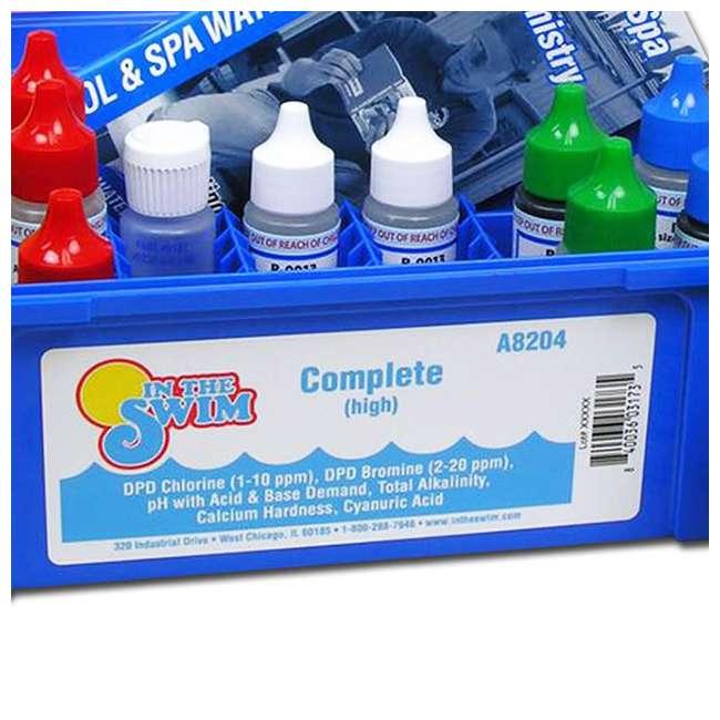 K2005 Taylor Swimming Pool Chlorine Bromine Alkalinity Hardness pH DP Test Kit (2) 3