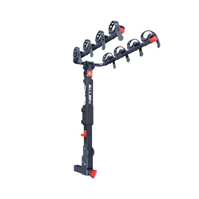 QR545-U-C Allen Sports 4 Bike 2 Inch Hitch Carrier Car Rack with Powder Coating(For Parts)
