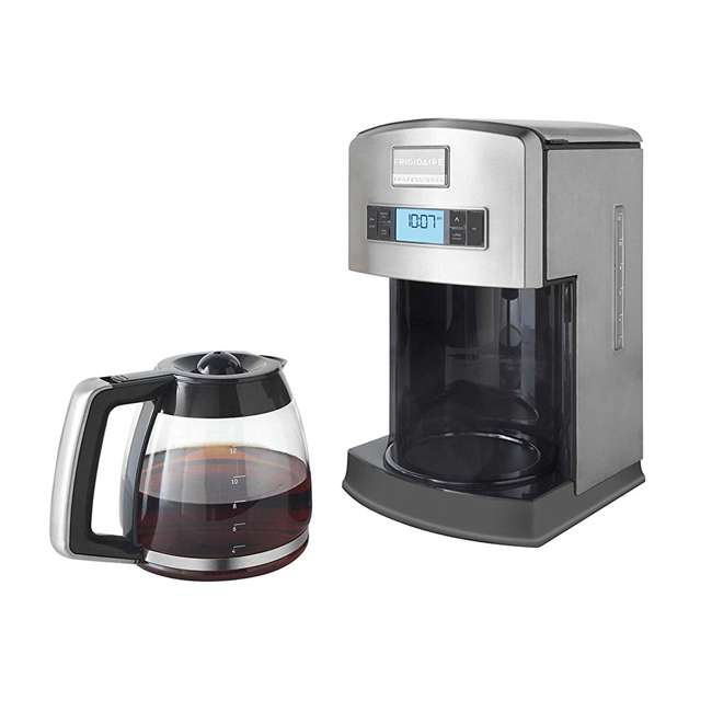 FPAD12D7PS Frigidaire Professional 12-Cup Stainless Steel Drip Coffee Maker (2 Pack) 3