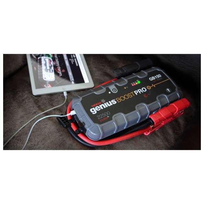 GB150 Noco Genius GB150 Boost Pro 4000-Amp UltraSafe Jump Starter 2