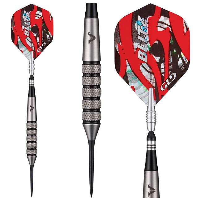 23-2726-26 Viper Blitz 26 Gram 95 Percent Tungsten Steel Tip Darts with Storage Travel Case 4