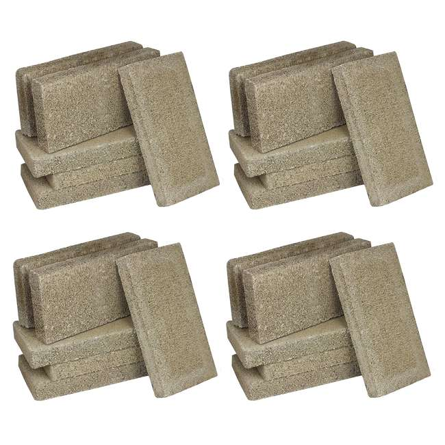 4 x FBP6E US Stove FireBrick 4.5 x 9 x 1.25 Inch Wood Stove Ceramic Fire Bricks (24 Pack)