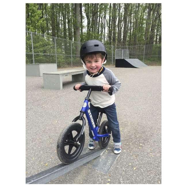 ST-S4BL Strider 12 Sport Balance Kids Learning Bike, Blue 2
