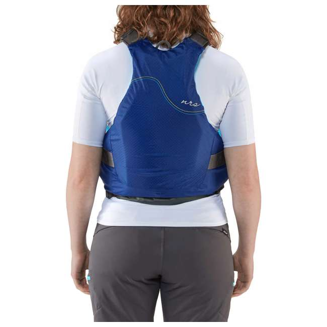 NRS_40036_02_103 NRS Adult Women's Siren PFD Life Jacket Vest, Teal, L/XL 5