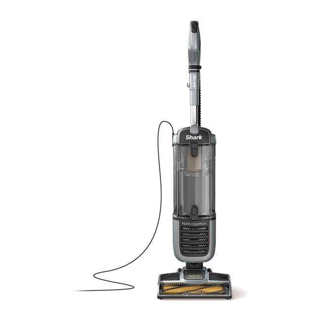 ZU60_EGB-RB Shark ZU60 Navigator Zero M Upright Bagless Vacuum, Gray (Certified Refurbished)