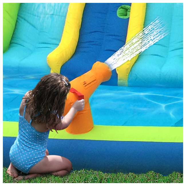 6 x 90360 Kahuna Triple Blast Inflatable Water Slide (6 Pack) 4