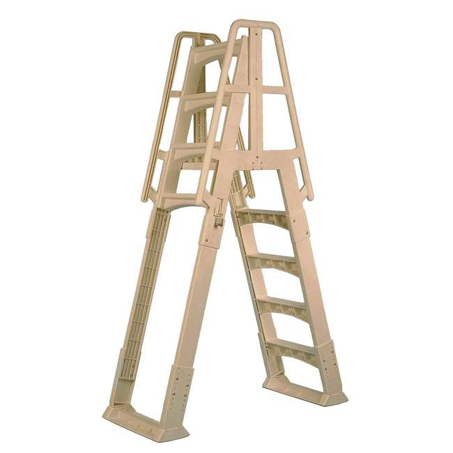 SLA-T Vinyl Works A-Frame Ladder for Pools 48-56 Inches Tall (2 Pack) 1