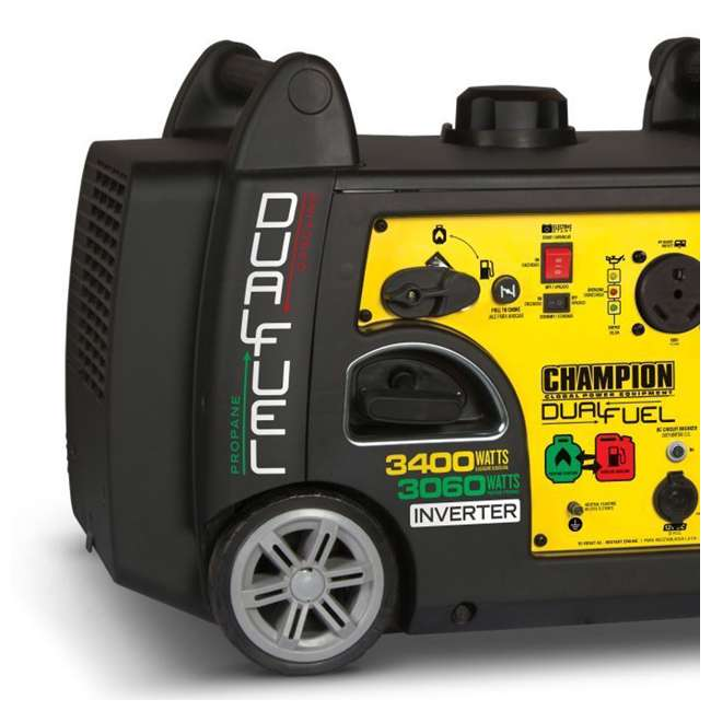 100263 Champion 3400-Watt Portable Dual Fuel Inverter Generator 2