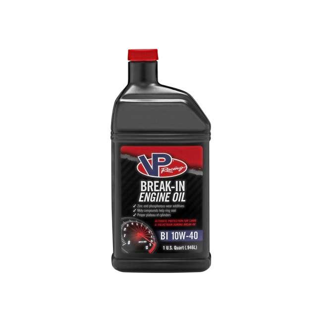 2415 VP Racing 2415 1 Quart Valvetrain Cam Break In 10W40 Engine Motor Oil, Black