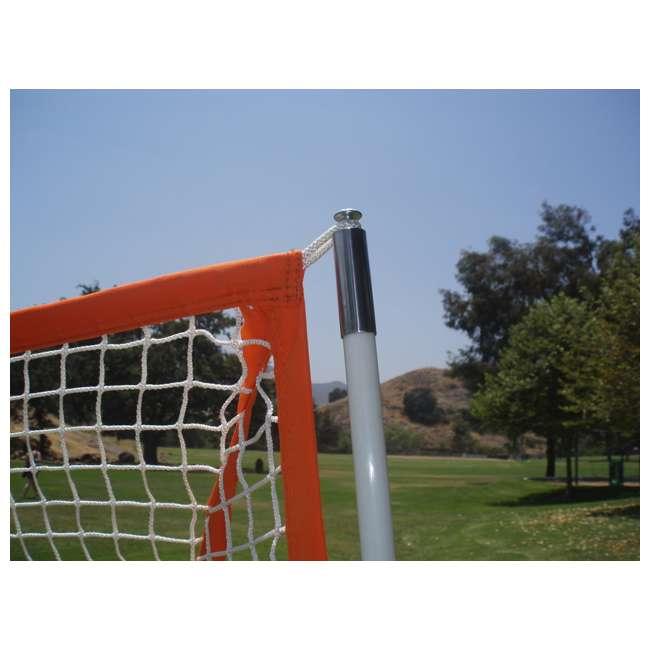 BowLAX Bownet 6 x 6 Foot Full Size Pop Up Soccer Pugg Lacrosse Goal Net  2