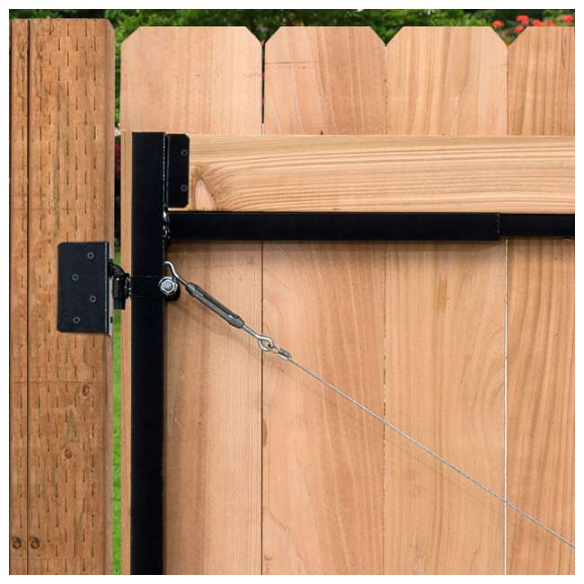 "AG60-36-U-A Adjust-A-Gate Gate Building Kit, 60-96"" Wide Up To 4' High(Open Box) (2 Pack) 4"