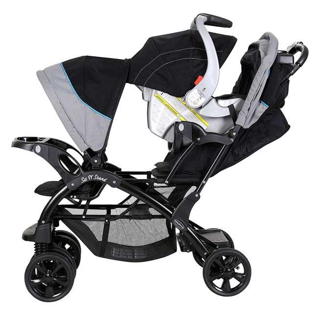 Baby Trend Double Sit N Stand Stroller, Millennium Blue ...