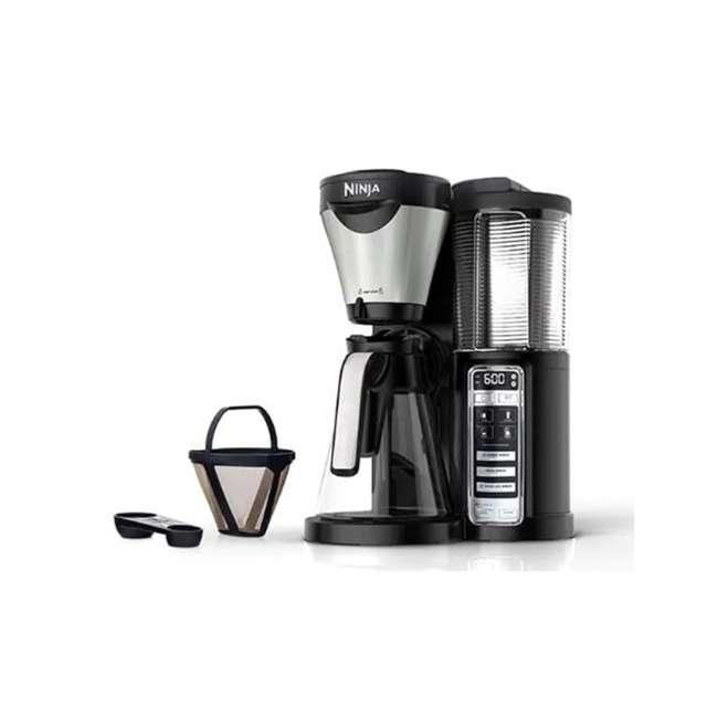CF020_EGB-RB Ninja CF020 Coffee Brewer Machine with Auto-iQ (Certified Refurbish), Black