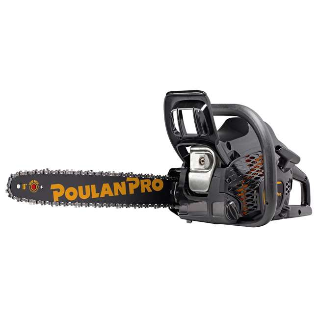 """967084603-BRC-RB-U-C Poulan Pro PR4016 16"""" 2 Cycle Gas Powered Chainsaw (Refurbished) (For Parts)"""