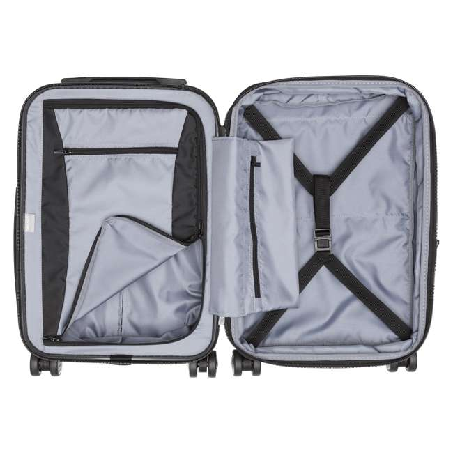 00207180101 Delsey Paris Titanium International Carry On Spinner Rolling Luggage Suitcase 2
