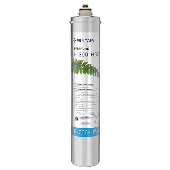 5 x EV927075 Pentair Everpure H-300-HSD Water Filter Replacement Cartridge (5 Pack) 1