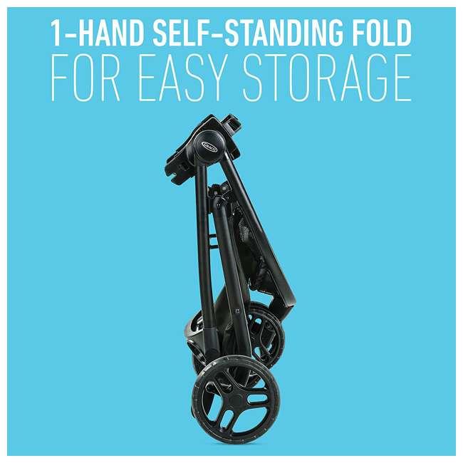 2081084 Graco Modes 3 Lite DLX Baby Stroller & Infant Car Seat Travel System, Arbis Pink 9