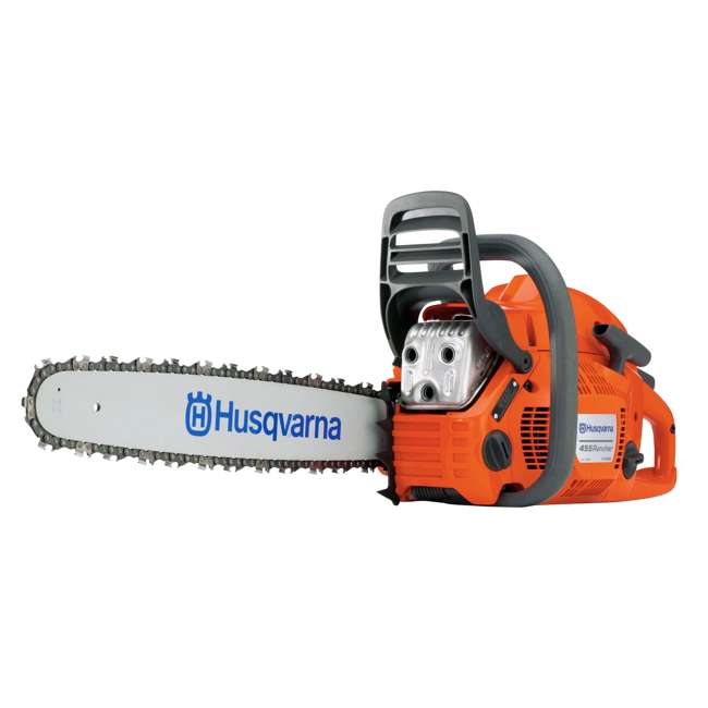 HV-CS-965030254 Husqvarna 455 Rancher 55.5cc 20 Inch 3/8 Pitch 3.49 HP Gas Chainsaw, Orange