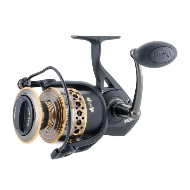 BTLII8000102H Penn BTLII8000102H Battle II HT100 Saltwater Spinning Fishing Reel and Rod Combo 1
