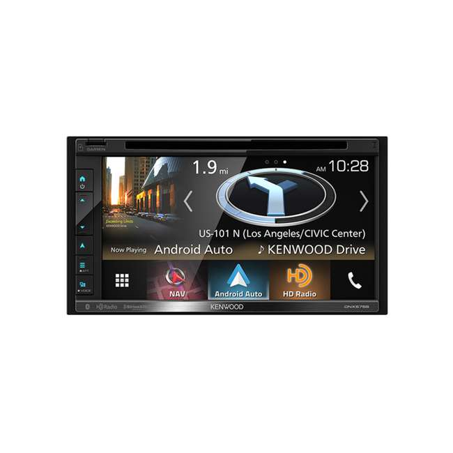 DNX575S Kenwood DNX575S 2-Din 6.8-Inch Multimedia Receiver with GPS
