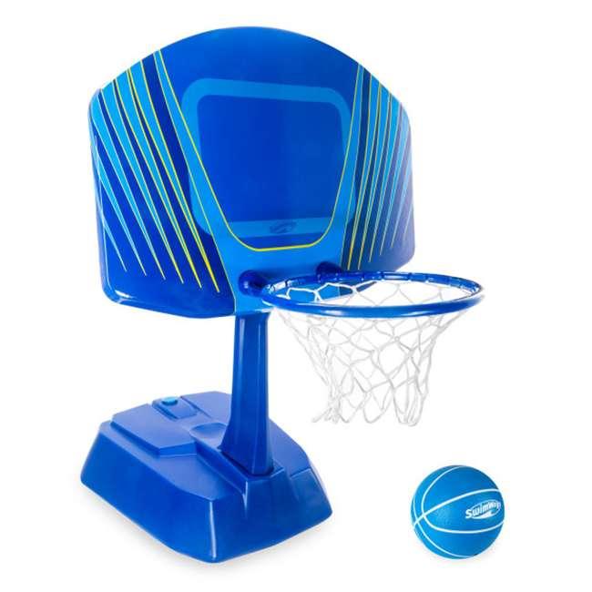 6043634-SW SwimWays Wet Net Swimming Pool Basketball Set
