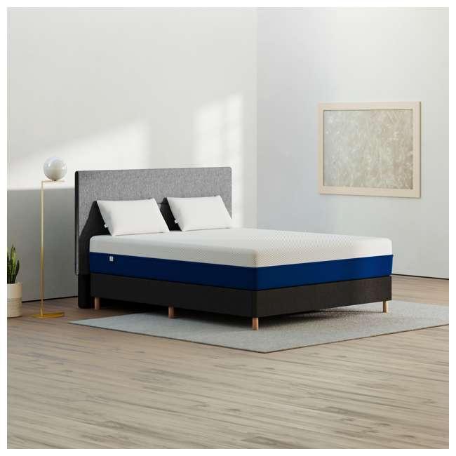 AS2-TXL Amerisleep AS2 Back/Stomach Sleeper Medium Firm Memory Foam Mattress, Twin XL 3