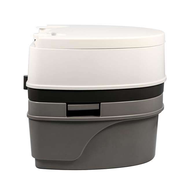 41545 Camco 41545 5.3 Gallon Portable Travel Toilet with Sealed Tank and Flush Pump 2