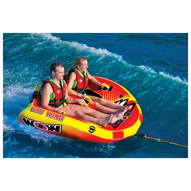 18-1120 World of Watersports Wild Wing 2 Rider Inflatable Tube 5