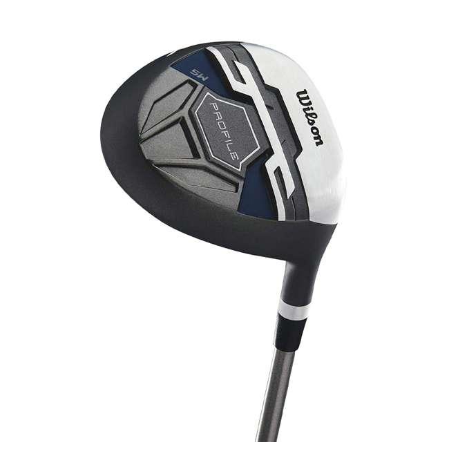 WGGC58200 Wilson Profile XD Men's Senior Right Handed Golf Club Set, Blue 3