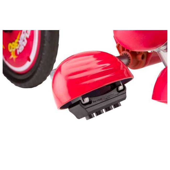 97778 + 20036559 Razor V17 Youth Skateboard/Scooter Sport Helmet & Drifting Ride-On Tricycle, Red 5