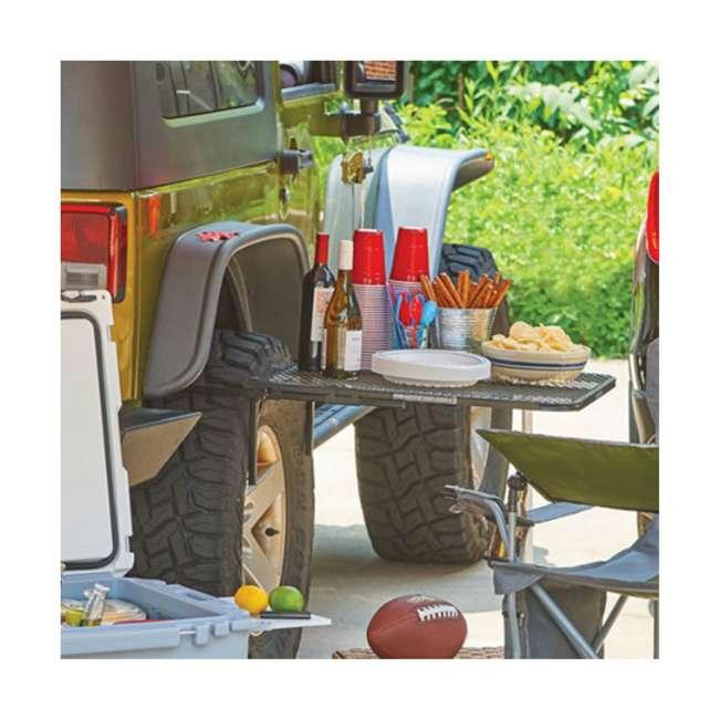 TGMESH Tailgater Tire Table Original Steel Tire-Mounted Folding Table 8
