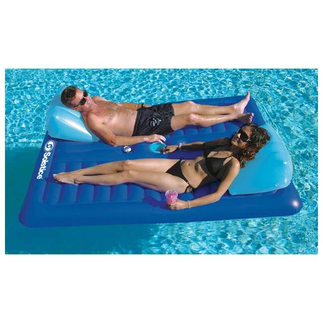 16141SF-U-A Swimline   16141SF Swimming Pool Inflatable 2 Person Air Mattress |  (Open Box) 1