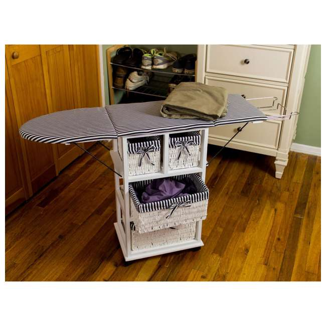 NX-904-U-C SpaceMaster 29 Inch Metal Ironing Board and Laundry Sorting Station (For Parts) 3