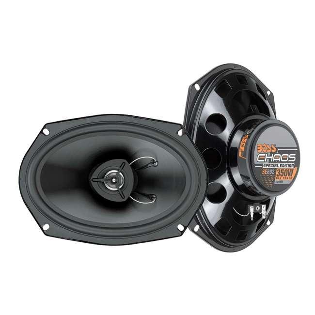 SE692 BOSS SE692 6x9-Inch 350W Car Audio Speakers (Pair)