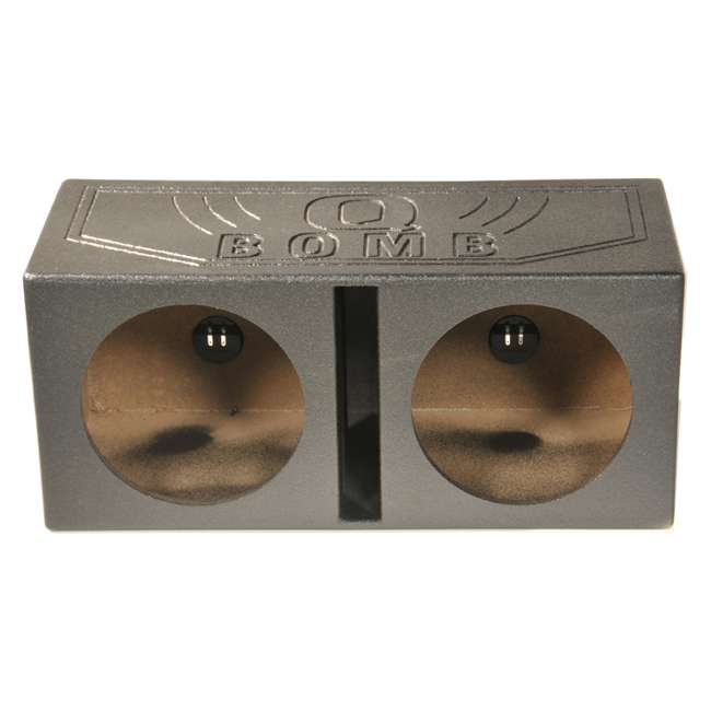 QBOMB15V Q-Power QBOMB15V 15-Inch Dual Vented Subwoofer Box Enclosure