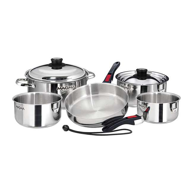 A10-360L-IND 10-pc Nesting Cookware Set