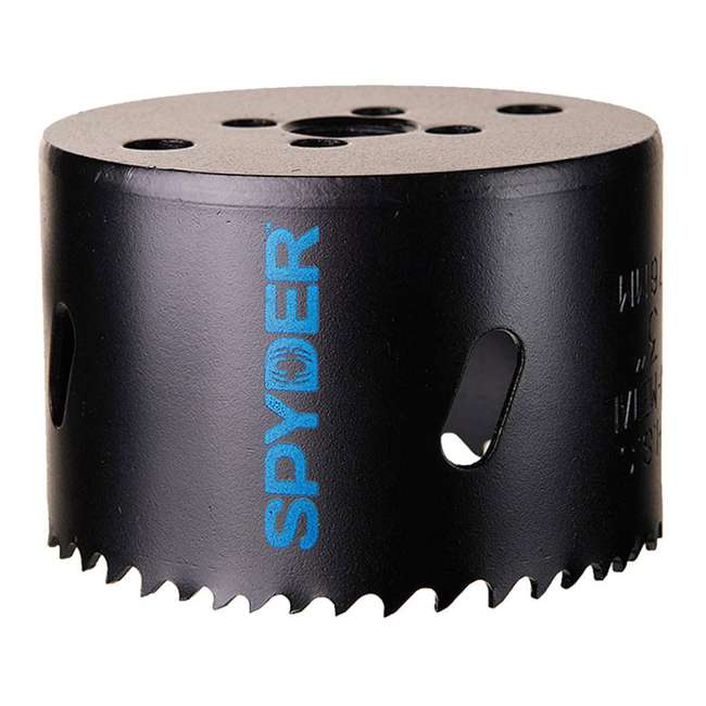 ST-600634H + ST-600113H + ST-600111H Spyder 1/2 Inch Pilot and 6-5/8-Inch & 6-Inch Hole Saw Drill Bits 3