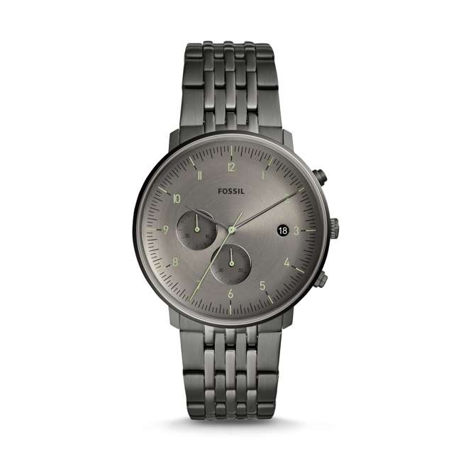 FS5490-U-A Fossil Chase Time Chronograph 3 Hand Mens Watch with Gray Face (Open Box)