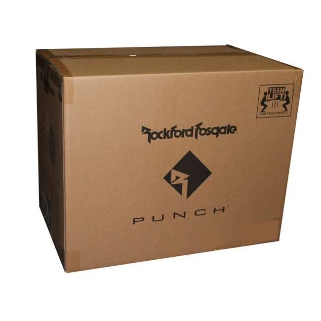 "P300-10 Rockford Fosgate P300-10 10"" 300W Sub Enclosure (2 Pack) 5"