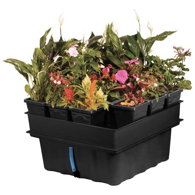 MGSYS Hydrofarm 22 x 22 Inches Megagarden System with Ebb and Flow System (Open Box)