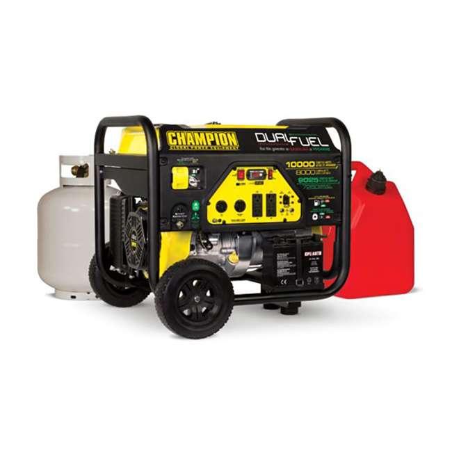 CPE-GN-100297 Champion 8000-Watt Portable RV-Ready Dual-Fuel Generator (2 Pack) 5