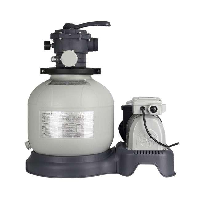 28647EG Intex 2800 GPH Above Ground Pool Sand Filter Pump 4