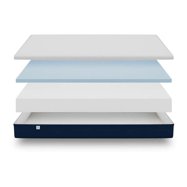 AS1-T Amerisleep AS1 Back and Stomach Sleeper Firm Memory Foam Bed Mattress, Twin 6