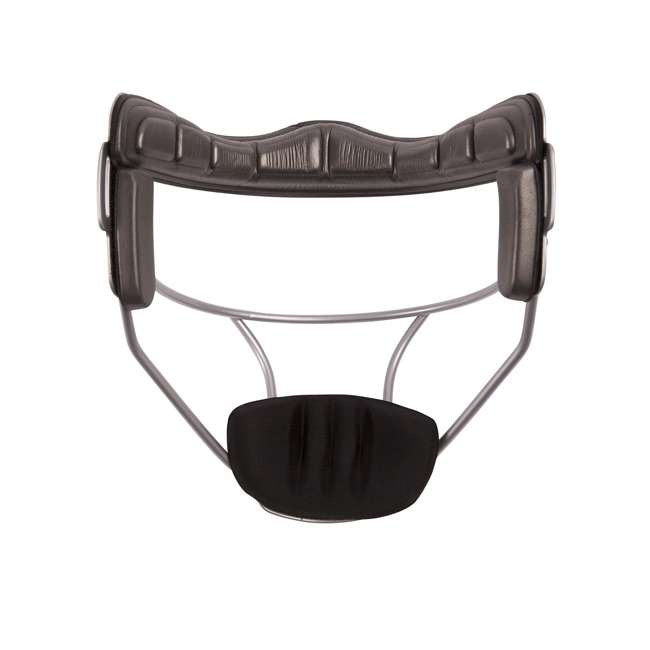 FMASL Champion Sports FMASL Adjustable Adult Softball Fielder's Face Mask, Silver 1