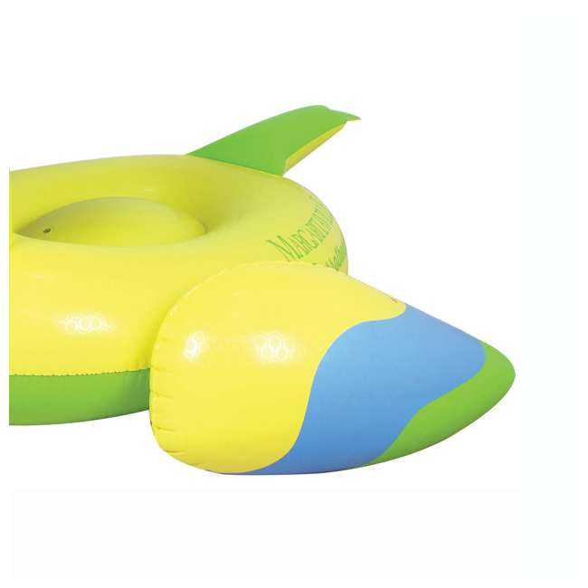 2183246-MW Margaritaville Rideable Parrot Inflatable Float, Yellow (2 Pack) 4
