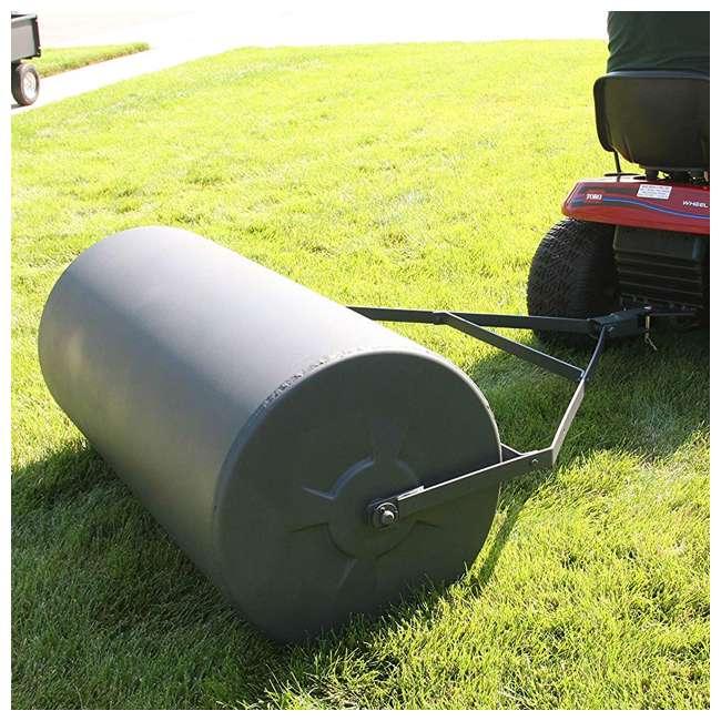 PLR1848-U-B Precision Products 18 inch by 48 Inch Poly Lawn Garden Roller, Black (Used) 5